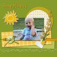 Quick page for digital scrapbooking
