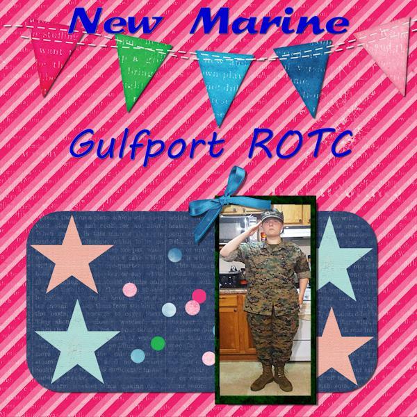 Ellena -Marine ROTC